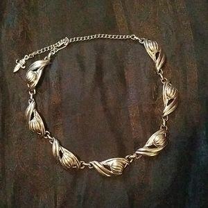 Vintage Scottish Thistle necklace